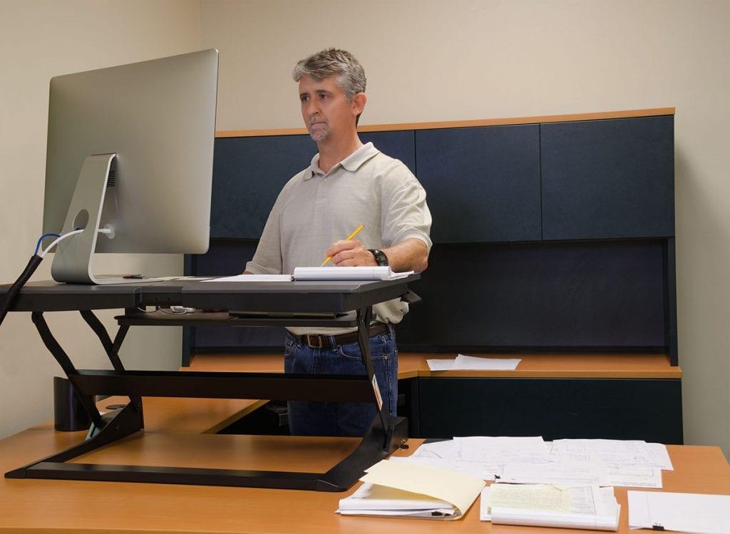 Zit-Sta bureau voor ergonomisch werken